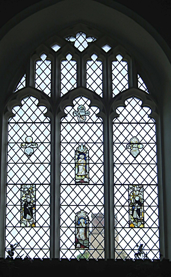 The East window in Plumstead Church