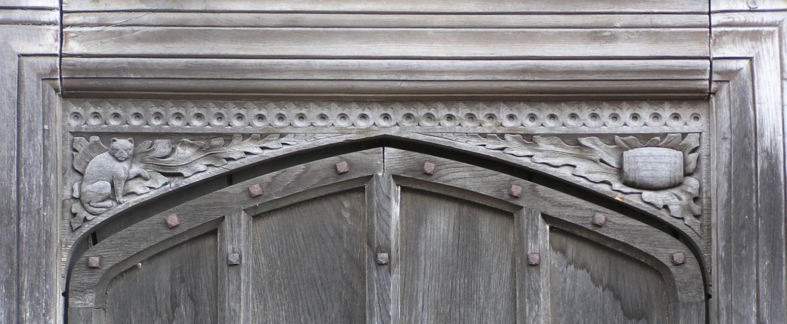 Manor House door detail