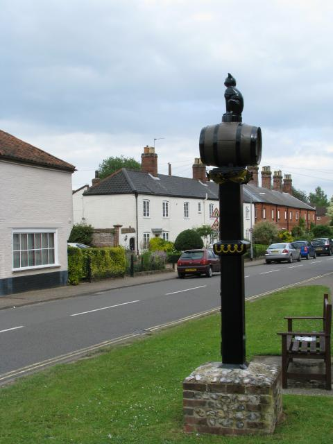 Village sign - June 2013